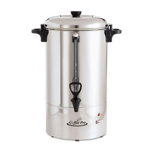 Percolating Coffee Urn