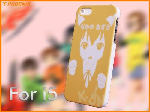 C507-0071 高級感 人気 Apple iPhone 5 アイフォン 5 ハードケース けいおん! / K-ON! 保護ケース +(無料iPhone保護フィルムが付属しております)