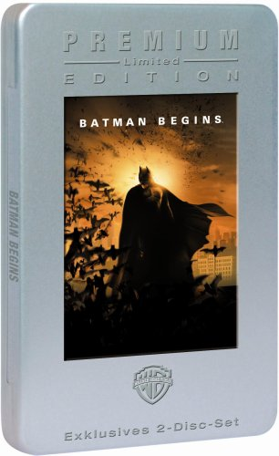 Batman Begins (im Metalpak) [2 DVDs]