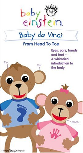 Baby Da Vinci: From Head to Toe (Baby Einstein)  [VHS]