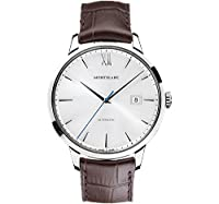 Montblanc Meisterstuck Heritage Automatic Silver Dial Brown Leather Mens Watch 111580 from Montblanc