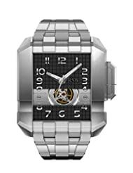 Inexpensive!! RSW Men's 7110.MS.S0.12.00 Crossroads Square Automatic Stainless-Steel Bracelet Watch Deals