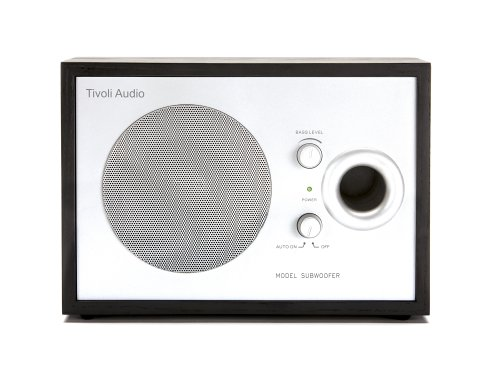 Tivoli Audio Model Subwoofer For Model Two, Black/Silver