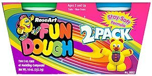 Roseart Rose Art 2 Pack Fun Dough Modeling Clay