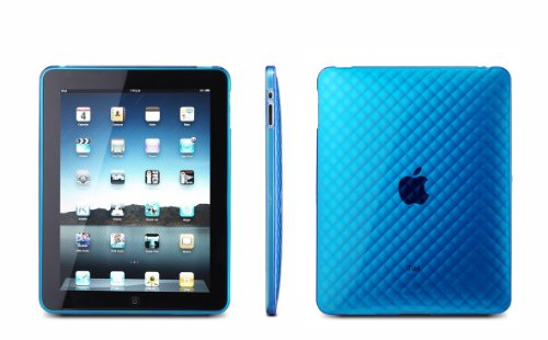 CrazyOnDigital Clear Wave Premium Crystal Candy TPU Silicone Skin Case for Apple iPad 3G Tablet / Wifi Model 16gb, 32gb, 64gb from MiniSuit