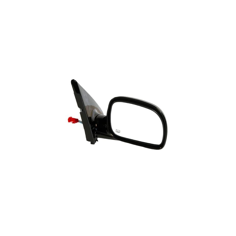 1996 2000 Dodge Caravan & Grand Caravan, 1996 2000 Plymouth Voyager & Grand Voyager 1996 2000 Chrysler Town & Country Power With Heat Black (Without Memory & Dimmer) Folding Heated Rear View Mirror Right Passenger Side (1996 96 1997 97 1998 98 1999 99 2000