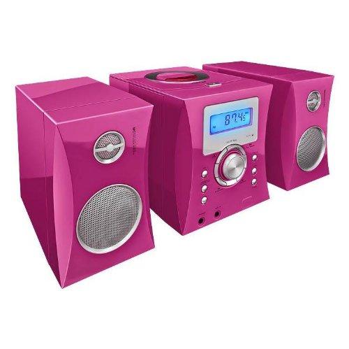 BigBen MCD04 Micro Chaîne Hi-Fi Kids Rose