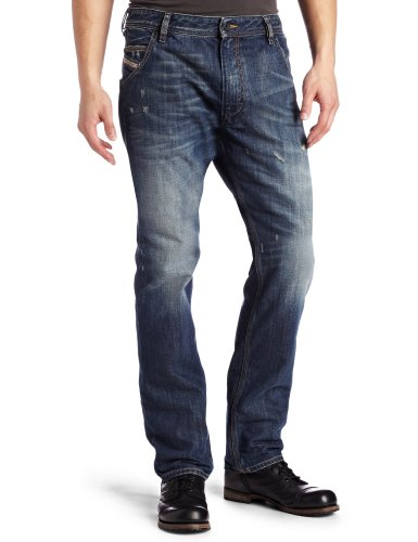 Brand New Diesel Krooley 885S Mens Jeans, 0885S, Authentic Regular Slim Carrot Fit (29 x 32)