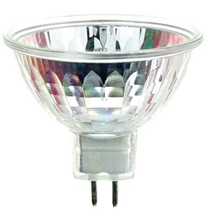 Sunlite EYS 42W/MR16/12V/CL/GU5.3 42-watt 12-volt Bi-Pin Based Stage and Studio MR16 Bulb, Clear