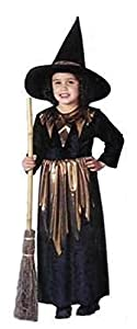 Toddler or Infant Pretty Little Witch Costume includes HAT (Broom NOT included)