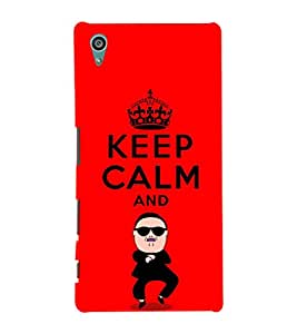 EPICCASE Keep Calm and Swing Mobile Back Case Cover For Sony Xperia Z5 Premium / Z5 Plus (Designer Case)