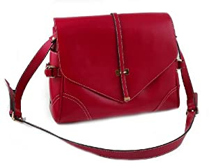 Yippydada Foxy Real Leather Baby Changing Bag (Red ) from Yippydada