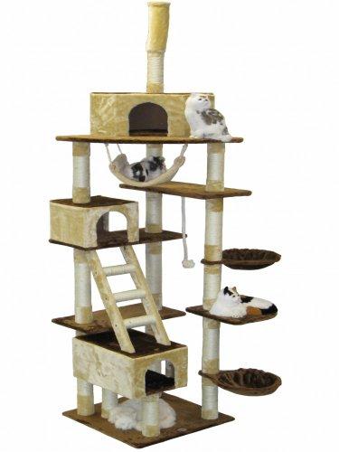 Go Pet Club Cat Tree, 108-Inch Go Pet Club B00BFFF9QE