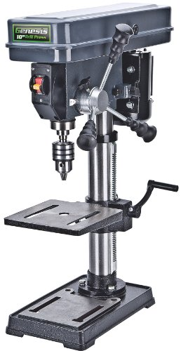 Genesis GDP1012A 12 Speed Drill Press, 10-Inch, Grey
