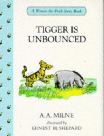 Tigger Is Unbounced (Winnie-the-Pooh Story Books)