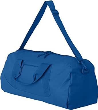 UltraClub® Large Square Duffel Bag - Royal