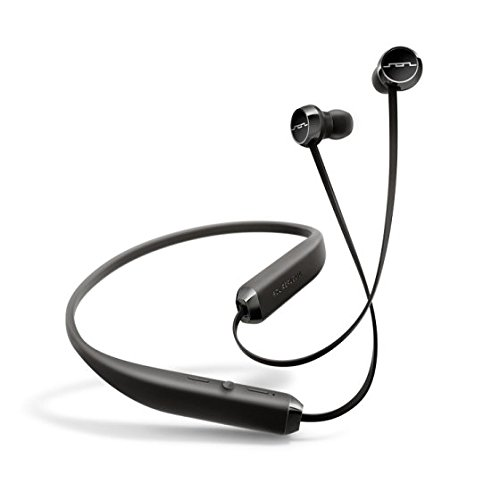 SOL REPUBLIC Shadow Wireless In-Ear Headphones-Black/Silver