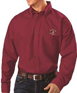 Florida State Seminoles Antiqua NCAA Esteem Long Sleeve Button Down Dress Shirt by Antigua