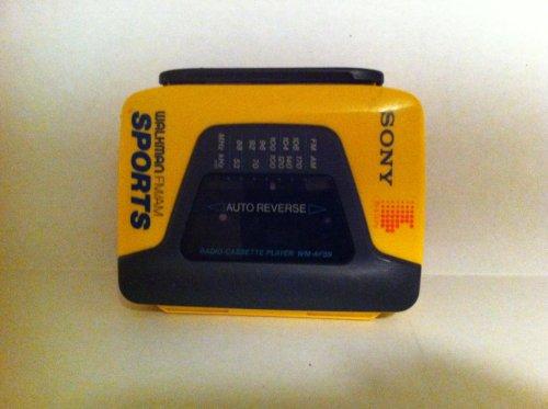 Sony Corporation Sony Walkamn Radio Cassette Player Sony Walkman Model#WM-AF59