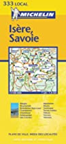 Isere/Savoie (Michelin Local Maps)