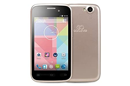 Goclever Quantum 2 400 Smartphone débloqué (Ecran: 4 pouces) Or (import Italie)
