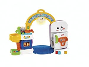 Fisher-Price Fisher Price Laugh and Learn 2-in-1 Learning Kitchen at Sears.com