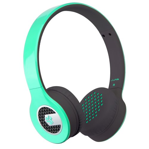 Jlab Supra, Sleek Stereo On-Ear Headphones With Cable And Universal Mic (Teal)