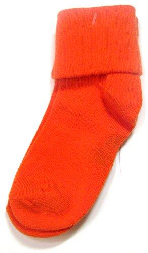 Jrp Triple Roll Socks Colored Socks Orange Small (5-6) front-168867