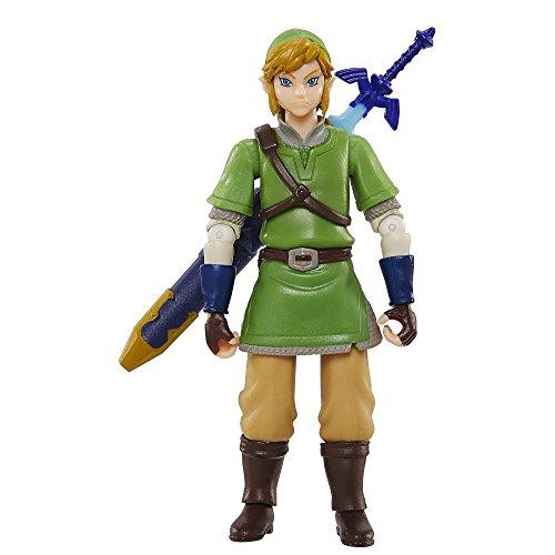 World of Nintendo, Legend of Zelda: Skyward Sword Link Action Figure, 4 Inches (Legend Zelda Figure compare prices)
