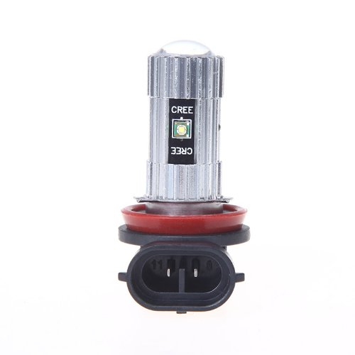 Docooler H11 25W Ultra Bright 5*Cree Xpe-R3 Led Foglamp Foglight Car Bulb Headlight 500Lm White