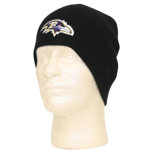 Baltimore Ravens Classic Knit Beanie Picture