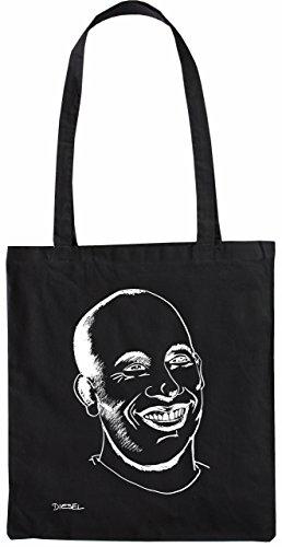 Mister Merchandise Tote Bag Vin Diesel Borsa Bagaglio , Colore: Nero