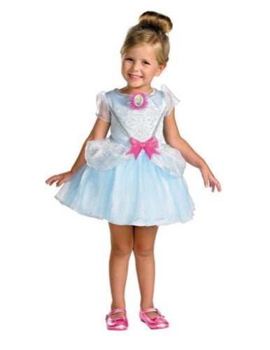 Cinderella Ballerina 4-6 Kids Girls Costume