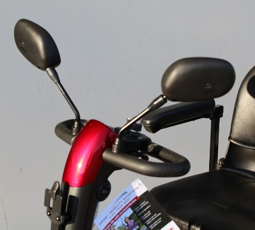 Electric Scooter Rear View Mirror Pair For Pride Mobility, Drive, Challenger Electric Scooter