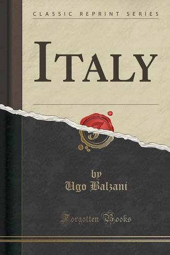 Italy (Classic Reprint)