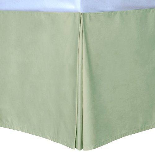 Sage Queen Cottonloft Colors Bed Skirt front-517899