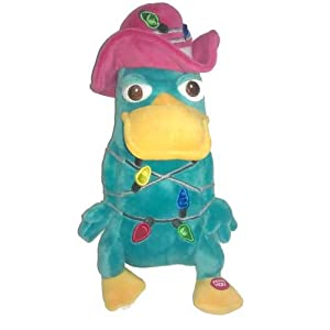 Disney Plush - Christmas Lights - Perry The Platypus Soft ...