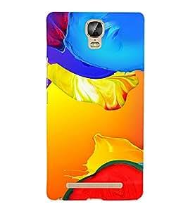 PrintVisa Modern Art Pattern 3D Hard Polycarbonate Designer Back Case Cover for Gionee Marathon M5 Plus