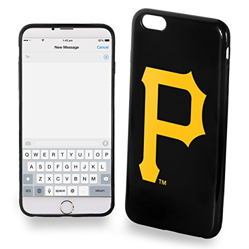 Pittsburgh Pirates iPhone 6 Plus TPU Silicone Soft Slim Case