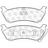 Brake Pad Set disc brake for MERCEDES-BENZ M-CLASS (W163) 1998/2-2005/6 ML 320 (163.154) Petrol Closed Off-Road Vehicle