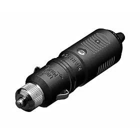 Marinco 12VPG SeaLink Deluxe Marine 12-Volt Plug (Black)