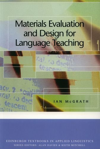 Materials Evaluation and Design for Language Teaching...