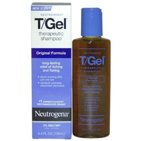 Neutrogena T/Gel Shampoo Therapeutic, Original Formula, 4.4 Ounces, (Pack Of 2) front-58692