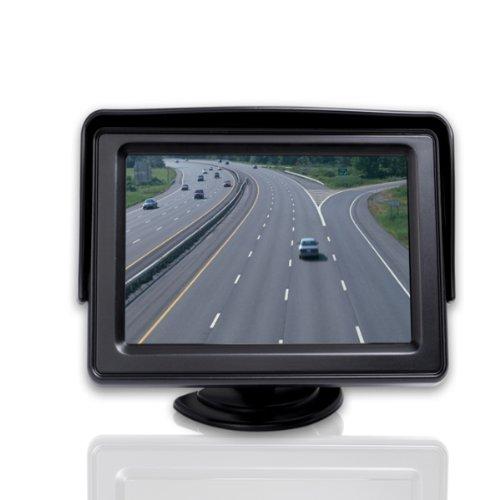4.3 Inch Thin Lcd Digital Car Display Key Functional Egulation