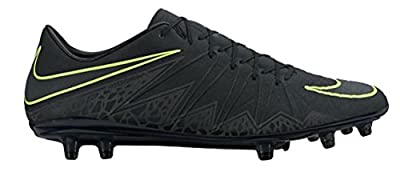 Nike Men's HyperVenom Phinish FG Soccer Cleat (Black)
