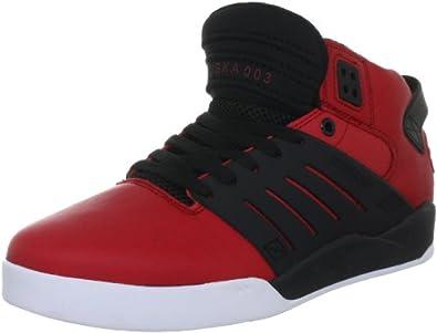 SUPRA Men's The Skytop III Sneaker 8M / 10W Red