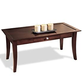 Dolce Dark Walnut Coffee Table