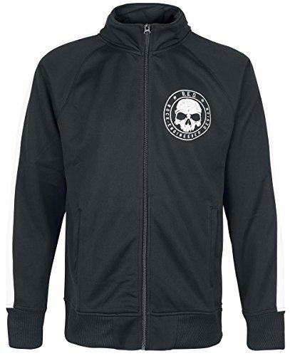 R.E.D. by EMP Skull Trackjacket Giacca allenamento nero S