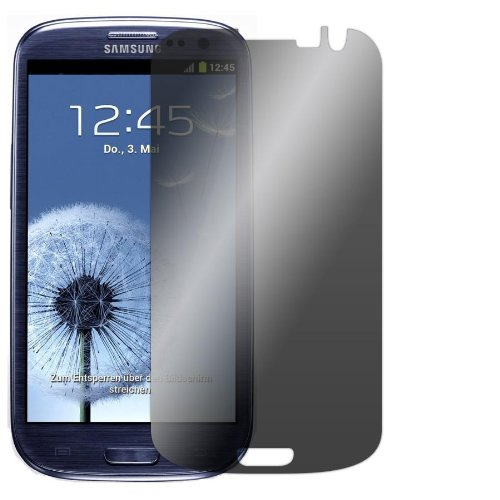"Slabo Blickschutzfolie Samsung Galaxy S3 I9300 Sichtschutz Displayschutzfolie ""View Protection