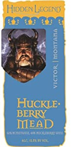 NV Hidden Legend Huckleberry Mead 750 mL